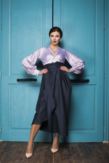 Skirt of EMMA and blouse VERA
