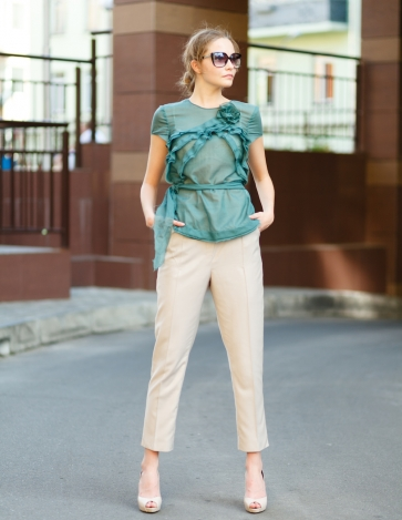 Blouse ROSALIE and trousers AGATA
