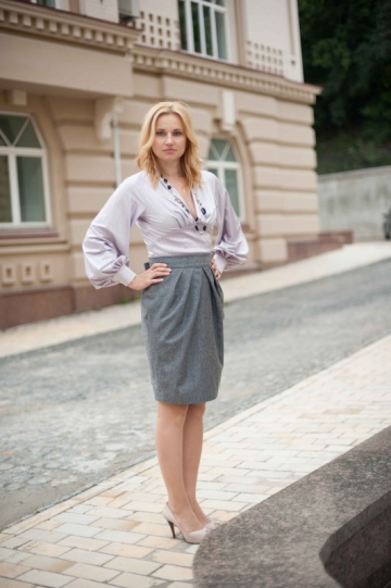 Blouse BELIEF and skirt MEGGIE